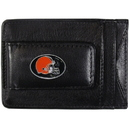 Siskiyou Buckle FLMC025 Cleveland Browns Leather Cash & Cardholder