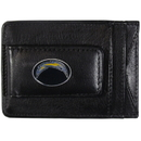 Siskiyou Buckle FLMC040 San Diego Chargers Leather Cash & Cardholder