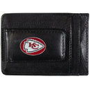 Siskiyou Buckle FLMC045 Kansas City Chiefs Leather Cash & Cardholder