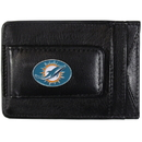 Siskiyou Buckle FLMC060 Miami Dolphins Leather Cash & Cardholder