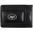 Siskiyou Buckle FLMC100 New York Jets Leather Cash & Cardholder