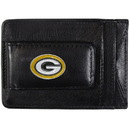 Siskiyou Buckle FLMC115 Green Bay Packers Leather Cash & Cardholder