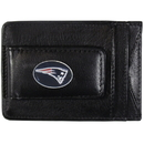 Siskiyou Buckle FLMC120 New England Patriots Leather Cash & Cardholder