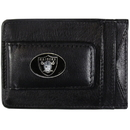 Siskiyou Buckle FLMC125 Oakland Raiders Leather Cash & Cardholder