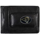 Siskiyou Buckle FLMC130 St. Louis Rams Leather Cash & Cardholder