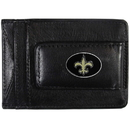 Siskiyou Buckle FLMC150 New Orleans Saints Leather Cash & Cardholder