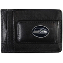 Siskiyou Buckle FLMC155 Seattle Seahawks Leather Cash & Cardholder