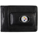 Siskiyou Buckle FLMC160 Pittsburgh Steelers Leather Cash & Cardholder