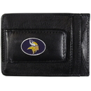 Siskiyou Buckle FLMC165 Minnesota Vikings Leather Cash & Cardholder