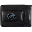 Siskiyou Buckle FLMC170 Carolina Panthers Leather Cash & Cardholder