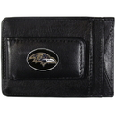 Siskiyou Buckle FLMC180 Baltimore Ravens Leather Cash & Cardholder