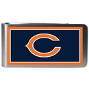 Siskiyou Buckle FLMP005 Chicago Bears Steel Logo Money Clips