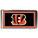 Siskiyou Buckle FLMP010 Cincinnati Bengals Steel Logo Money Clips