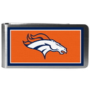 Siskiyou Buckle FLMP020 Denver Broncos Steel Logo Money Clips