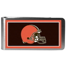 Siskiyou Buckle FLMP025 Cleveland Browns Steel Logo Money Clips