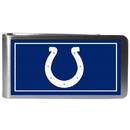 Siskiyou Buckle FLMP050 Indianapolis Colts Steel Logo Money Clips
