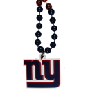 Siskiyou Buckle New York Giants Mardi Gras Bead Necklace, FMBN090