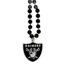 Siskiyou Buckle Oakland Raiders Mardi Gras Bead Necklace, FMBN125
