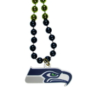 Siskiyou Buckle Seattle Seahawks Mardi Gras Bead Necklace, FMBN155