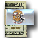 Siskiyou Buckle FMC075 San Francisco 49ers Steel Money Clip