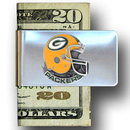 Siskiyou Buckle FMC115 Green Bay Packers Steel Money Clip