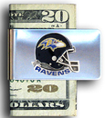 Siskiyou Buckle FMC180 Baltimore Ravens Steel Money Clip