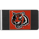 Siskiyou Buckle FMCL010 Cincinnati Bengals Steel Money Clip