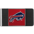 Siskiyou Buckle FMCL015 Buffalo Bills Steel Money Clip