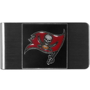 Siskiyou Buckle FMCL030 Tampa Bay Buccaneers Steel Money Clip