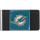 Siskiyou Buckle FMCL060 Miami Dolphins Steel Money Clip