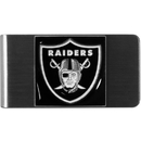 Siskiyou Buckle FMCL125 Oakland Raiders Steel Money Clip