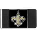 Siskiyou Buckle FMCL150 New Orleans Saints Steel Money Clip