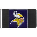 Siskiyou Buckle FMCL165 Minnesota Vikings Steel Money Clip