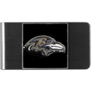 Siskiyou Buckle FMCL180 Baltimore Ravens Steel Money Clip