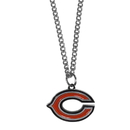 Siskiyou Buckle FN005SC Chicago Bears Chain Necklace with Small Charm