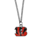 Siskiyou Buckle FN010SC Cincinnati Bengals Chain Necklace with Small Charm