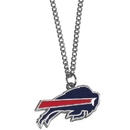 Siskiyou Buckle FN015SC Buffalo Bills Chain Necklace with Small Charm