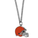 Siskiyou Buckle FN025SC Cleveland Browns Chain Necklace with Small Charm