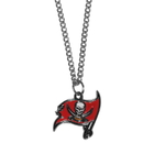 Siskiyou Buckle FN030SC Tampa Bay Buccaneers Chain Necklace with Small Charm