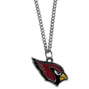 Siskiyou Buckle FN035SC Arizona Cardinals Chain Necklace with Small Charm