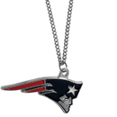 Siskiyou Buckle FN120SC New England Patriots Chain Necklace with Small Charm