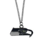 Siskiyou Buckle FN155SC Seattle Seahawks Chain Necklace with Small Charm