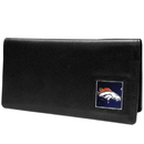 Siskiyou Buckle FNC020BX Denver Broncos Leather Checkbook Cover