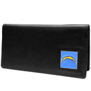 Siskiyou Buckle FNC040BX San Diego Chargers Leather Checkbook Cover