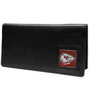 Siskiyou Buckle FNC045BX Kansas City Chiefs Leather Checkbook Cover