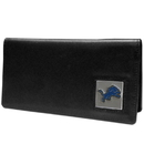 Siskiyou Buckle FNC105BX Detroit Lions Leather Checkbook Cover