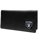 Siskiyou Buckle FNC125BX Oakland Raiders Leather Checkbook Cover