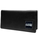 Siskiyou Buckle FNC155BX Seattle Seahawks Leather Checkbook Cover