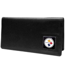 Siskiyou Buckle FNC160BX Pittsburgh Steelers Leather Checkbook Cover