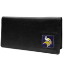 Siskiyou Buckle FNC165BX Minnesota Vikings Leather Checkbook Cover